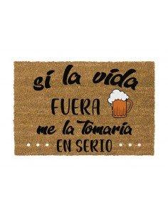 Felpudo Vida Cerveza