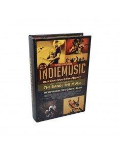 Caja Fuerte Libro Music