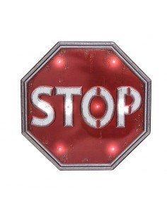Rótulo Led Stop