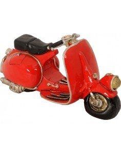 Hucha Moto Roja