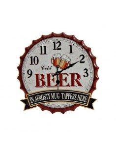 Reloj Pared Beer