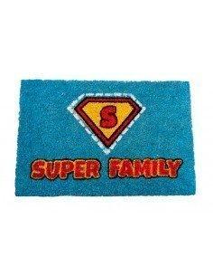Felpudo Super Familia