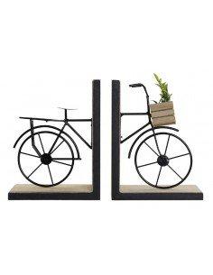 Sujetalibros Bicicleta