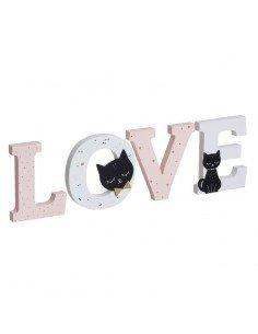 Letras Gatos Love