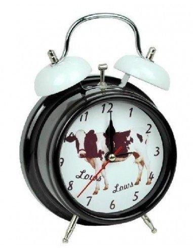 Reloj despertador sonido vaca